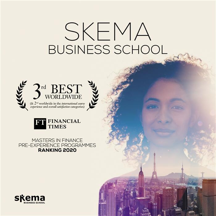 SKEMA金融硕士荣获全球前3