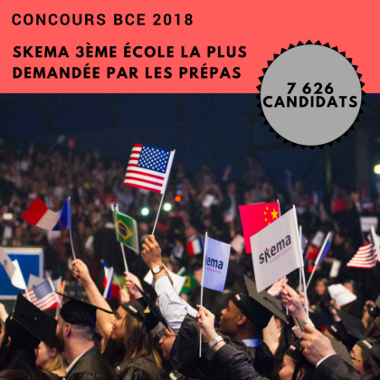 SKEMA位列法国学生最青睐的精英商学院Top 3