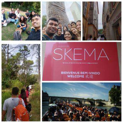 SKEMA商学院2018秋季学期六大校区开学盛况回顾