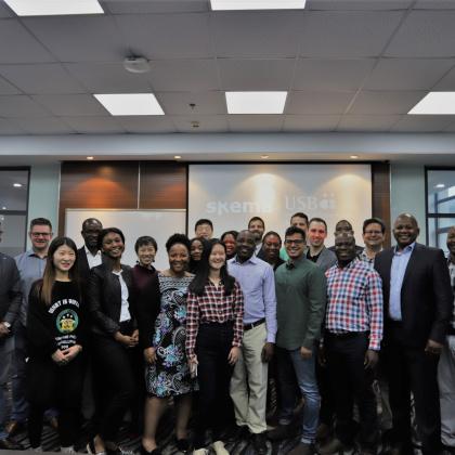 南非斯坦陵布什大学商学院MBA中国访学团成功结业