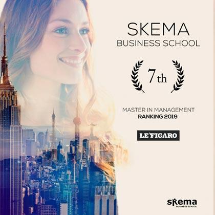 费加罗报2019法国高商排名出炉,SKEMA全法第七