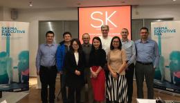 SKEMA商学院在华高级管理项目证书课程第四模块在上海的中国法国工商会成功收官